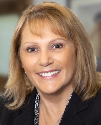 Candidates Page, head shot of Debbie Coffman
